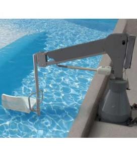 Con el elevador de batería 3000, las personas con limitaciones físicas podrán acceder a la piscina  de forma autónoma e independ