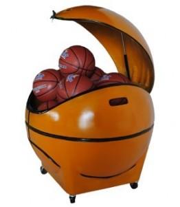 Novaf Ball Box. Organizador de balones para la cancha