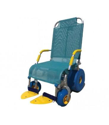 Silla de ducha. Para facilitar el aseo a personas con movilidad reducida