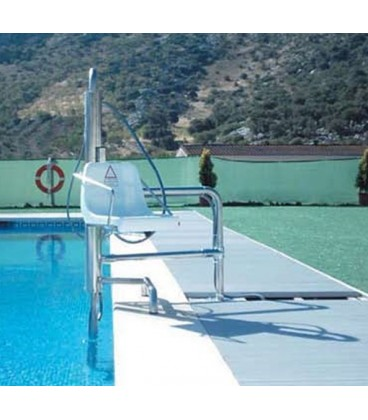 Hydraulic Elevator B-2. Designed for all types of pools