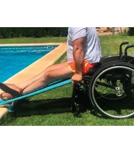 Transfer Ramp for the transfer of people with reduced mobility