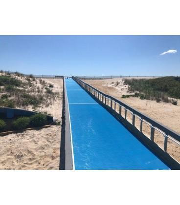 Flexipasarelas 1520 mm. Facilitates temporary access of people through the sand