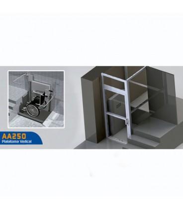 Plataforma Elevadora Vertical AA250