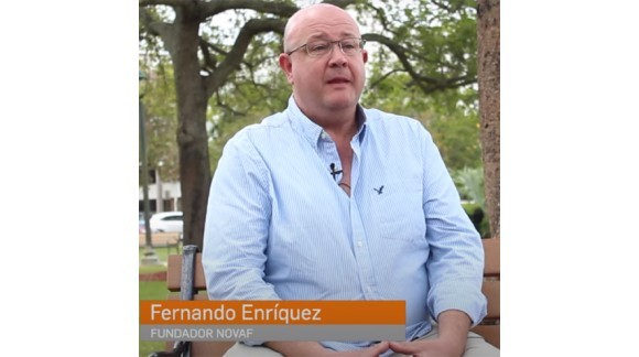 Fernando Enríquez (NOVAF), paving the way for people with reduced mobility